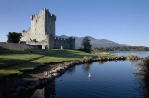 El Castillo de Ross en el Parque Nacional de Killarney