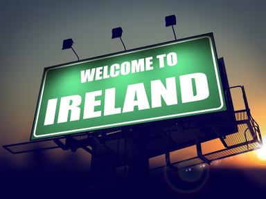 Bienvenido a Irlanda