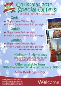 ¡Pasa las navidades en Irlanda!