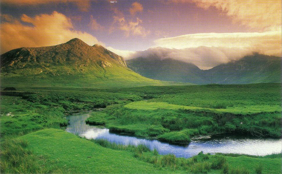 Los paisajes m s impresionantes de irlanda 1 parte for Paisajes para una pared