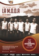 La MODA Dublin poster