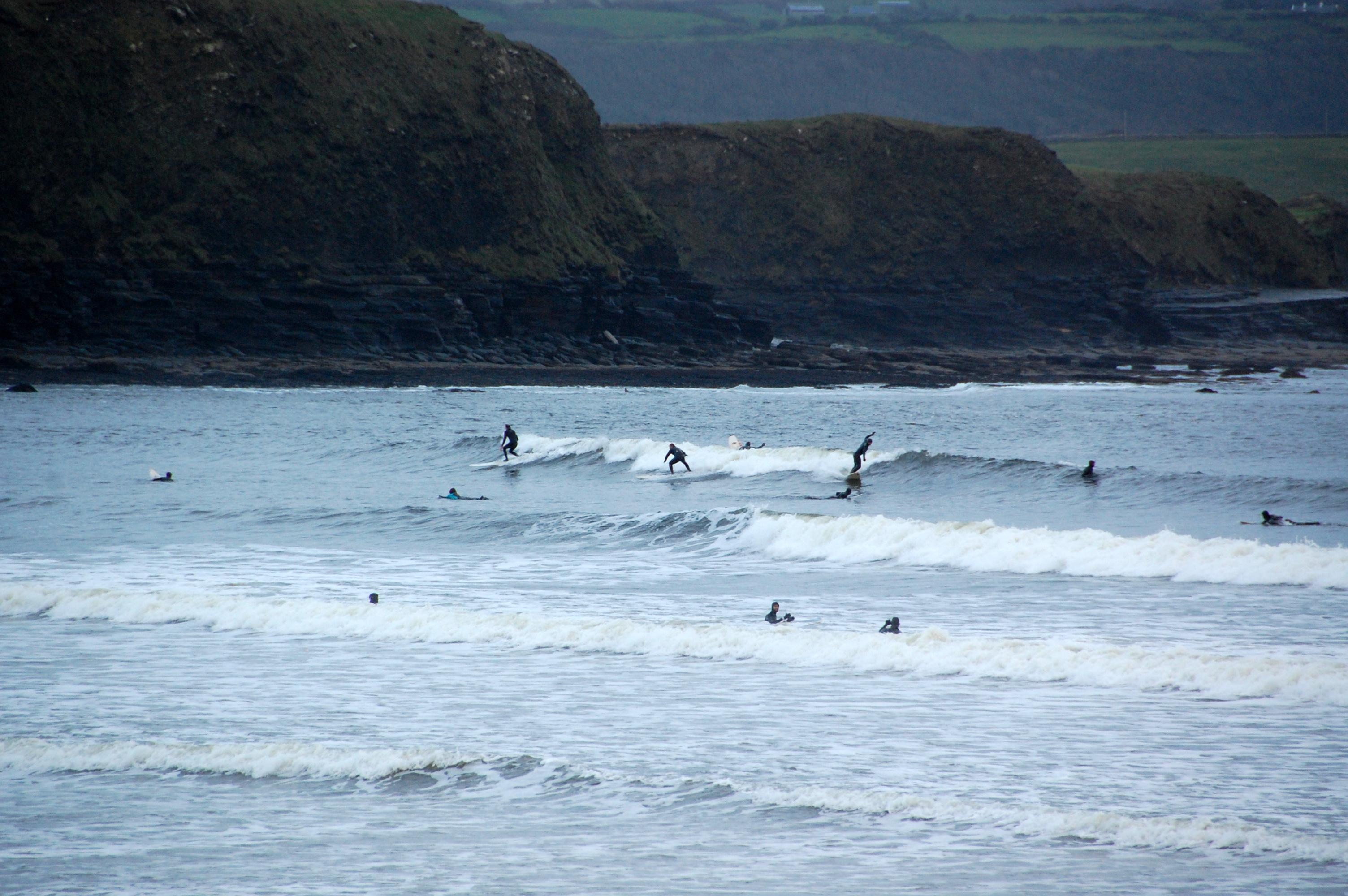 Surfers_in_Lahinch,_Feb_2012