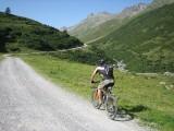 bici en la montaña
