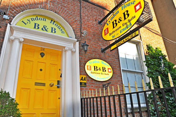 Bed and Breakfast en Dublín