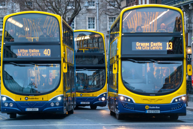 Transporte Público en Dublín