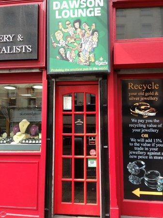 Dawson Lounge - Pub más pequeño de Dublín