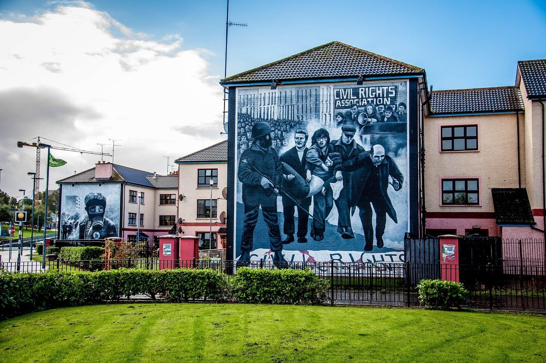 Muros de la paz en Derry